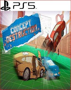 concept destruction ps5 psn midia digital
