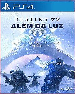 destiny 2 alem da luz ps4 midia digital