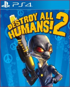 DESTROY ALL HUMANS! 2 PS4 MÍDIA DIGITAL
