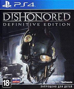 DISHONORED DEFINITIVE EDITION PS4 MÍDIA DIGITAL