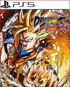 dragon ball fighterz ps5 midia digital psn