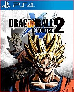 DRAGON BALL XENOVERSE 2 PS4 MIDIA DIGITAL