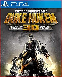 DUKE NUKEM 3D 20TH ANNIVERSARY WORLD TOUR PS4 MÍDIA DIGITAL