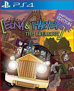 EDNA AND HARVEY: THE BREAKOUT – ANNIVERSARY EDITION PS4 MÍDIA DIGITAL