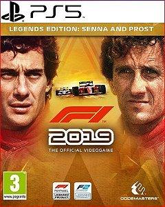 F1 2019 LEGENDS EDITION SENNA AND PROST PS5 PSN MÍDIA DIGITAL