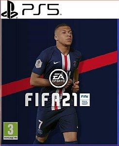 FIFA 21 PORTUGUÊS PS5 PSN MÍDIA DIGITAL