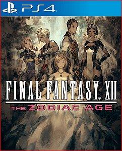 Final Fantasy XII The Zodiac Age Ps4 Mídia Digital