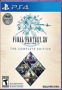 Final fantasy xiv online edição completa ps4 mídia digital