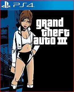 GRAND THEFT AUTO III PS4 MÍDIA DIGITAL