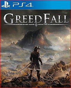 GREEDFALL PS4 MÍDIA DIGITAL PORTUGUÊS