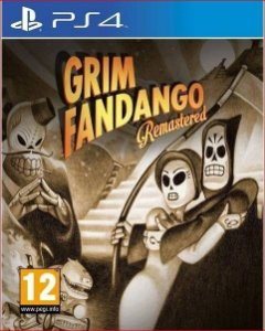 GRIM FANDANGO REMASTERED PS4 MÍDIA DIGITAL