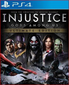 INJUSTICE GODS AMONG US ULTIMATE EDITION PS4 MIDIA DIGITAL