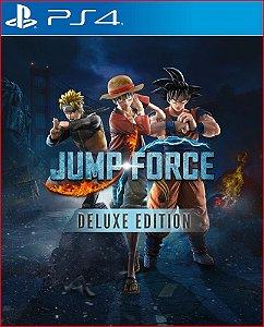 JUMP FORCE DELUXE EDITION PS4 PORTUGUÊS MÍDIA DIGITAL