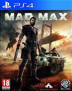 MAD MAX PS4 MÍDIA DIGITAL