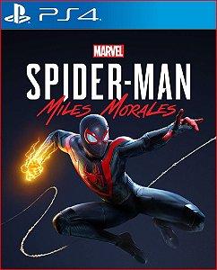 marvel spider-man: miles morales / homen aranha ps4 midia digital