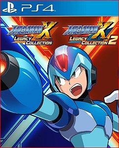 Mega Man X Legacy Collection 1+2 Ps4 Mídia Digital