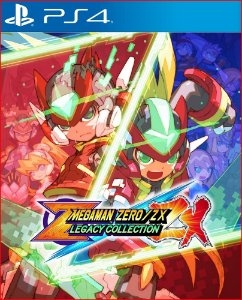 MEGA MAN ZERO ZX LEGACY COLLECTION PS4 MÍDIA DIGITAL