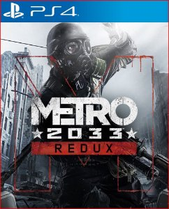 METRO 2033 REDUX PS4 MÍDIA DIGITAL