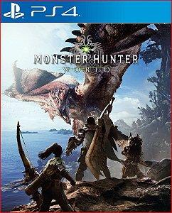 Monster Hunter World PS4 Mídia Digital português