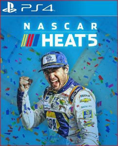 NASCAR HEAT 5 PS4 MIDIA DIGITAL