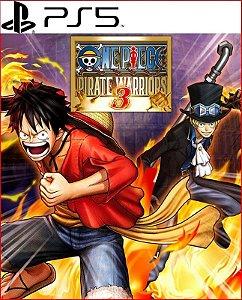 One Piece: Pirate Warriors 3 PS5 Mídia Digital
