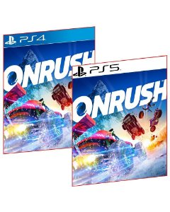 ONRUSH PS4 E PS5 MÍDIA DIGITAL