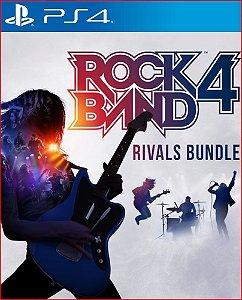 rock band 4 rivals bundle ps4 midia digital