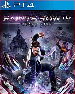 SAINTS ROW IV RE-ELECTED PS4 MÍDIA DIGITAL