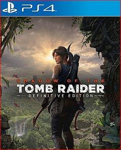 SHADOW OF THE TOMB RAIDER DEFINITIVE EDITION PS4 MÍDIA DIGITAL