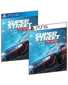 SUPER STREET THE GAME PS4 E PS5 MÍDIA DIGITAL