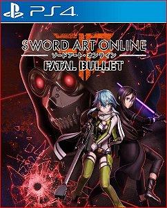 Sword Art Online Fatal Bullet ps4 psn midia digital