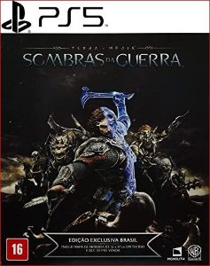 TERRA-MEDIA SOMBRAS DA GUERRA PS5 PSN MIDIA DIGITAL