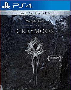 THE ELDER SCROLLS ONLINE GREYMOOR UPGRADE PS4 MÍDIA DIGITAL