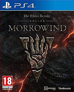 THE ELDER SCROLLS ONLINE MORROWIND PS4 MIDIA DIGITAL