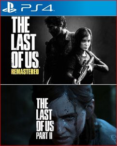 THE LAST OF US 1 E 2 PS4 MÍDIA DIGITAL