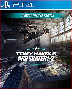 Tony Hawk's Pro Skater 1 + 2 Pacote Cross-Gen Deluxe ps4 midia digital