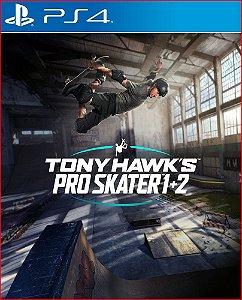Tony Hawks pro skater 1 + 2 PS4 midia digital