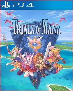 Trials of mana PS4 Midia digital psn