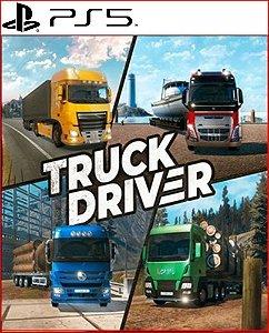 truck driver ps5 mídia digital