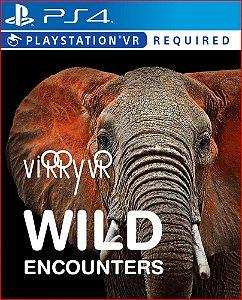 VIRRY VR WILD ENCOUNTERS PS4 MIDIA DIGITAL