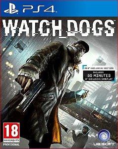 watch dogs ps4 psn midia digital