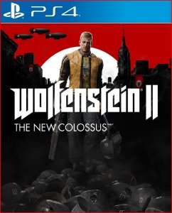 wolfenstein ii the new colossus ps4 midia digital