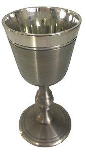 Cálice Taça Clássico Para Licor Em Estanho Nobreza Elegância 30 Ml