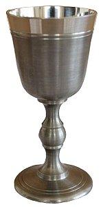 Cálice Taça Clássico Para Licor Em Estanho Nobreza Elegância