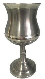 Cálice Taça Clássico Vinho Em Estanho Elegante 240 Ml