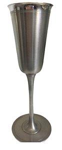 Taça Para Champagne Em Estanho Maravilhosa Requinte Festas