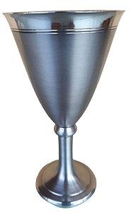 Cálice Taça Para Vinho Do Porto Em Estanho Elegancy