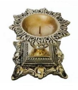 Castiçal Para Velas De 7 Dias Em Bronze Presentes Casa Decoração Lindo