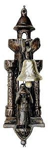 Sino Frade Em Bronze E Alumínio Fazenda Sítio Chácara Granja Casa Natal