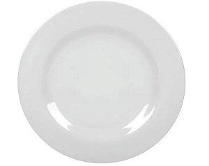 Pratos Melamine Branca Para Sobremesa 18 Cm Yangzi 12 Peças